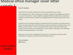 office manager cover letter office manager cover letter