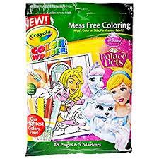 amazon color disney princess enchanted coloring book