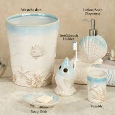 Beach Cottage Bathroom Ideas by Beach Themed Bathroom Sets Bathroom Decor
