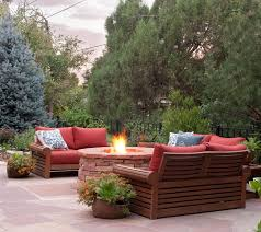 Jensen Outdoor Furniture A Gardener U0027s Garden Colorado Homes And Lifestyles August 2014
