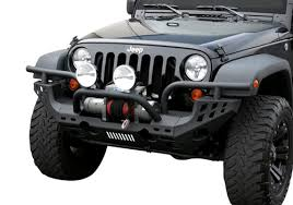 aries road jeep wrangler front replacement bumper