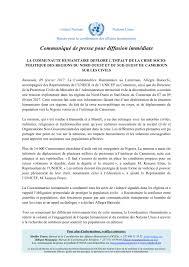 bureau de coordination des affaires humanitaires la communauté humanitaire déplore l impact de la crise socio