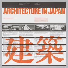 poster architecture in japan 1984 objects collection of