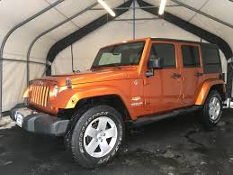 orange jeep wrangler unlimited for sale jeep wrangler unlimited 2011 in bohemia long island queens