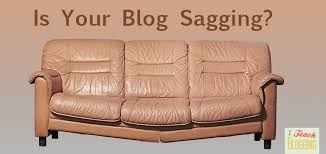 my futon sinks in the middle is your blog sagging in the middle like this couch
