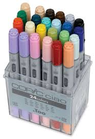 copic ciao double ended markers blick art materials