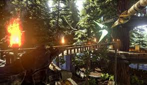 redwoods are awesome but tree platforms ark
