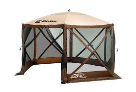 clam portable gazebo canopy tent screen popup tent