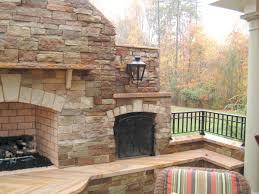 diy stone fireplace installing veneer stacked surround updating