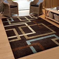 Peacock Blue Area Rug Amazing Rugs Brown And Blue Area Rug Yylcco Pertaining To Popular
