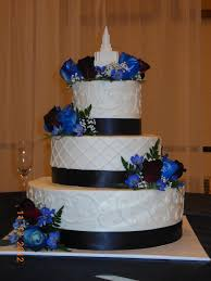 navy blue yellow and grey wedding cakes burgundy and blue