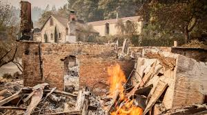 California Wildfires 2007 Environmental Effects by Massive California Wine Country Fires Worsen Sending More