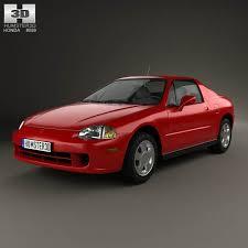 1993 honda civic si coupe honda civic si coupe 2016 3d model hum3d