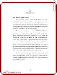 cara menulis latarbelakang skripsi contoh cara membuat latar belakang makalah tutorial panduan