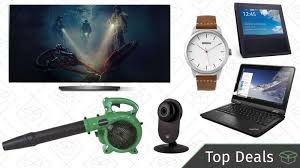 oled tv black friday friday u0027s top deals lenovo thinkpad lg oled tv leaf blower and more