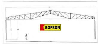 capannoni usati in ferro smontati cappanone in ferro usato 29 1 mt x 51 50 mt kopron treviso