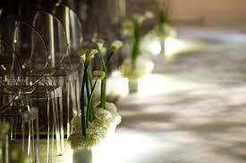 calla lily home decor wedding aisle style