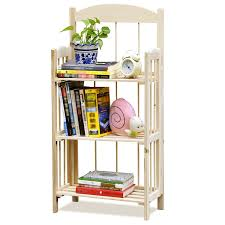 tinxs folding wooden pine display bookcase bookshelf craft fairs