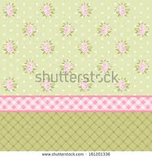 vintage floral background pink roses shabby stock vector 161201318