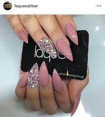 mauve stilletto nails all about nails pinterest mauve nail