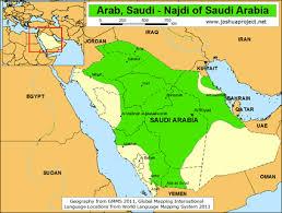 arab map arab saudi najdi in saudi arabia joshua project