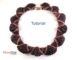 peyote stitch pattern seed bead patterns necklace tutorial