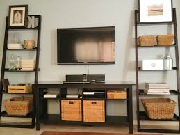 tv console with bookshelves american hwy