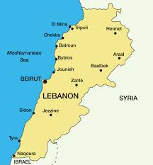 Map Of Lebanon Isis Is Trying To Take Over Lebanon This Christian Village Is On
