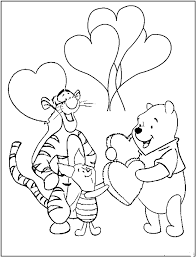 winnie the pooh valentines day pinned from site directly valentines day coloring pages