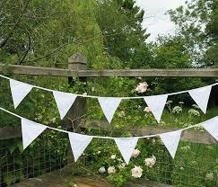 guirlande fanion mariage flyingstart guirlande fanions en tissu pour décoration