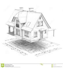 Free House Floor Plans Floor Plans Of An Architectural Design Royalty Free Stock Photo