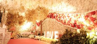 valentine wedding decoration