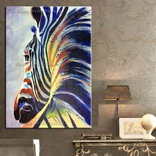 aliexpress com buy arts crafts painting oil handmade zebra oil