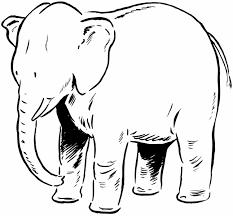 circus elephant coloring elephant coloring pages print az
