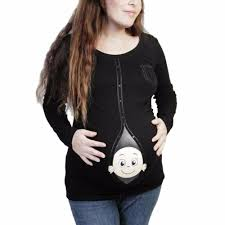 Halloween Shirts For Pregnant Moms Online Buy Wholesale Woman Funny Pregnant From China Woman Funny