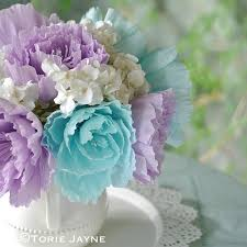 Peony Flower Crepe Paper Peony Flower Tutorial Torie Jayne