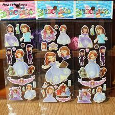 aliexpress buy 300 sheets princess sofia stickers party