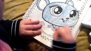 littlest pet shop coloring book youtube