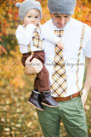 matching and me gift tie and suspenders baby boy