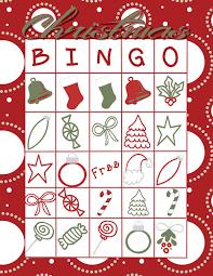 printable christmas bingo cards pictures free printable christmas bingo game