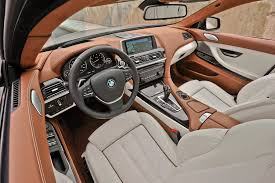 bmw 6 series interior 2014 bmw 6 series reviews and rating motor trend