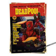 deadpool superheroes posters vintage retro marvel adornment poster