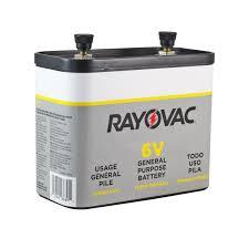 rayovac 918 general purpose 6 volt lantern battery batterymart com