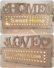 free standing words home decor ebay