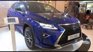 lexus f crossover lexus rx 200t f sport 2017 exterior u0026 interior youtube