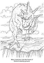 coloring page dragon ball z coloring pages 75