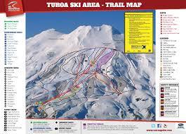 turoa ski field terrain and lifts