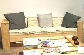 faire un canapé canape avec des palettes fabriquer un canape canapac anglais