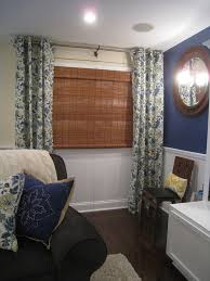 Basement Window Curtains Basement Window Curtains Basement Traditional With Air Hockey Area