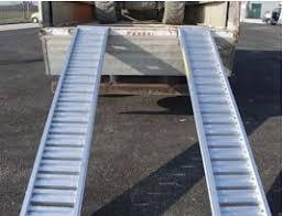 pedana di carico re di carico pedane e passerelle in alluminio emiliana scale